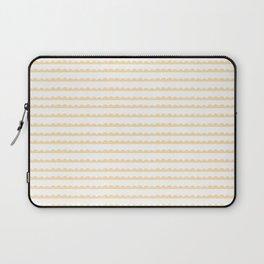 Yellow Scallop Laptop Sleeve