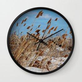Tame a Wild Wind- horizontal Wall Clock