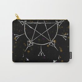A Tarot of Ink 10 of Pentacles Carry-All Pouch
