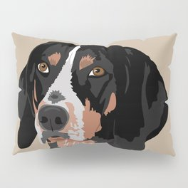 Maggie bluetick coonhound Pillow Sham