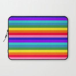 Stripes of Rainbow Colors Laptop Sleeve