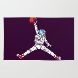 space dunk (purple ver.) Rug