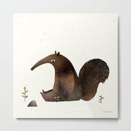Ants Again (Anteater) Metal Print