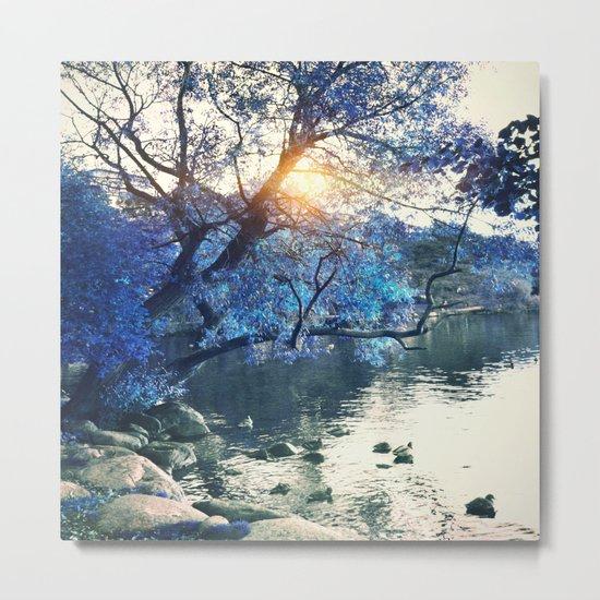 Hope in blue Metal Print