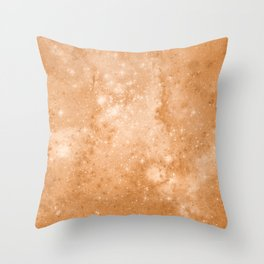 Vintage Space Paper Throw Pillow