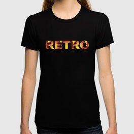 My Retro Pattern / Orange Brown Yellow T-shirt