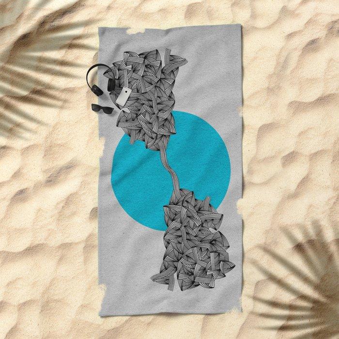 - cosmos_03 - Beach Towel