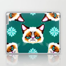 Grumpy Cat Geometric Pattern Laptop & iPad Skin