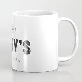 Daisy's Drive Thru - Black Logo Coffee Mug