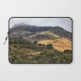 Hills of the Western Highlands, Scotland Laptop Sleeve