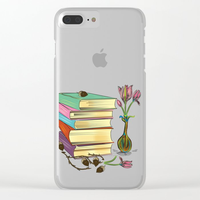 Books Clear iPhone Case