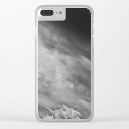 Brewing Storm IX Clear iPhone Case