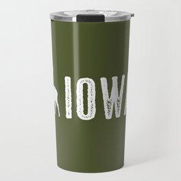 Deer: Iowa Travel Mug