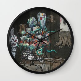 Mending the Stumped Wall Clock
