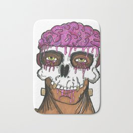 Thoughts Overflow Bath Mat