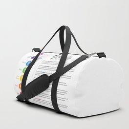 Seven Chakra Poster #43 Duffle Bag