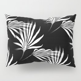 Tropical Leaves Palmetto Fronds Pillow Sham