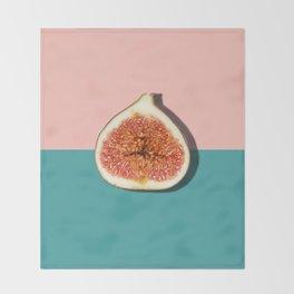 Half Slice Fruit Throw Blanket