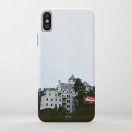 Looming Chateau Marmont iPhone Case