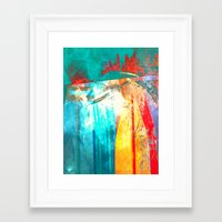 surfing Framed Art Prints featuring Surfing by Fernando Vieira