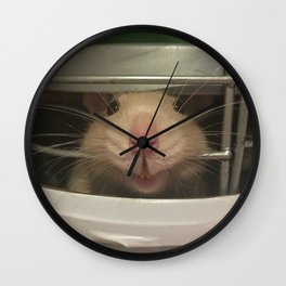 Lele the Rat Smiles Wall Clock