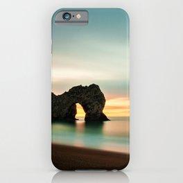 Durdle Door Arch, Jurassic Coast Dorset, England iPhone Case
