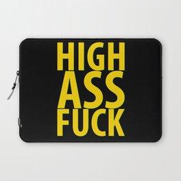 HIGH AS FUCK Laptop Sleeve