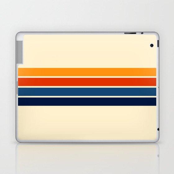 Classic Retro Stripes Laptop & iPad Skin