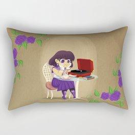 Retro Sailor Saturn Rectangular Pillow