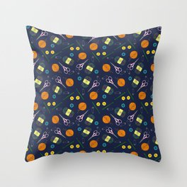 Craft with Me Throw Pillow