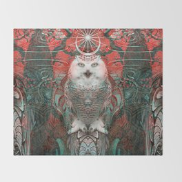 The Owls are Beautiful Throw Blanket
