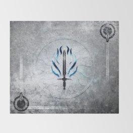 Dragon Age Templar Throw Blanket