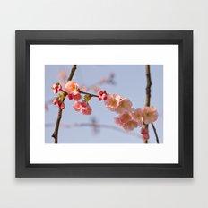 Japanese detail Framed Art Print