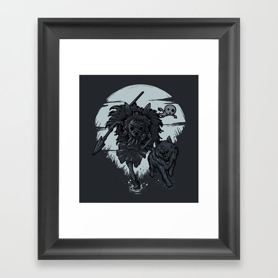 THE PRINCESS Framed Art Print