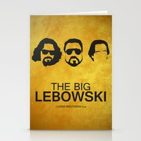 the big lebowski Stationery Cards featuring The big lebowski by Dehja