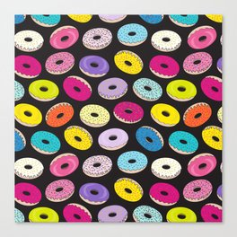 Donut Dreams by Everett Co Canvas Print
