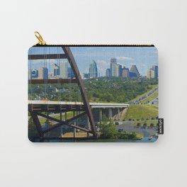 Austin, Texas Skyline Carry-All Pouch