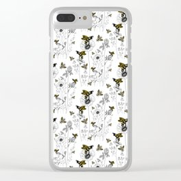 bees knees Clear iPhone Case