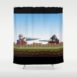 Joust It Shower Curtain
