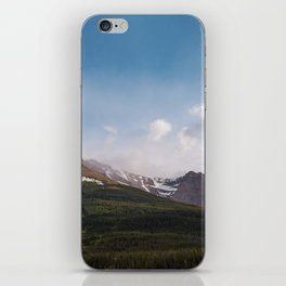 Mountain and Blue Sky   Landscape Photography iPhone Skin