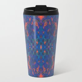 TRIPPY BLUE Travel Mug
