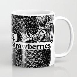 Earliest of all Strawberries 1899 Coffee Mug