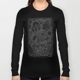 Tangling & Doodling #02 Long Sleeve T-shirt