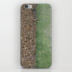 Grass and Mulch iPhone Skin