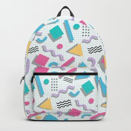 Memphis Shapes Backpack