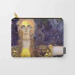 "Gustav Klimt ""Pallas Athene"" Carry-All Pouch"