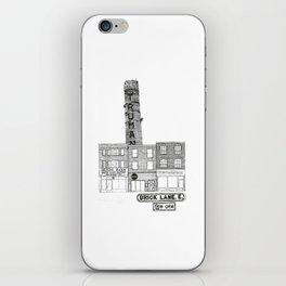 Brick Lane, Shoreditch, London iPhone Skin
