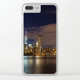 NYC 08 Clear iPhone Case