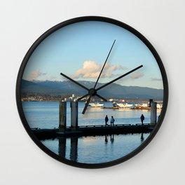Vancouver Oceanfront Wall Clock