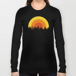 summer mountain Long Sleeve T-shirt